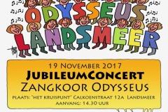 Jubileumconcert 2017 poster